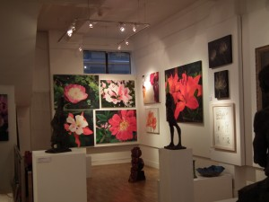 Private View- 'Consider the Lilies' at Gallery 27, Cork Street, London