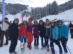 Girls celebrate a fabulous week of sport
