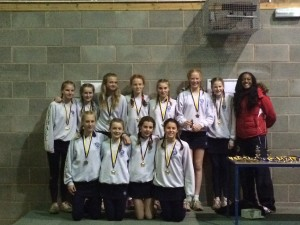 Girls win Netball and Lacrosse Trophies