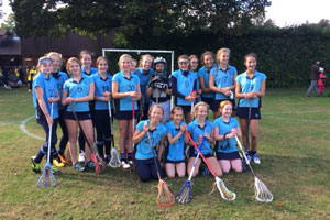 U13 Lacrosse Team lead Calne to victory!