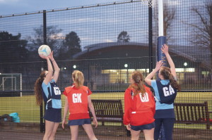 Weekend of netball and lacrosse kicks off the Spring Term