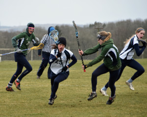 Snow brings havoc to the end of the lacrosse season