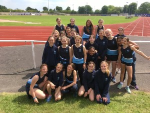 Athletes storm through to County Championships