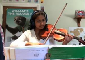 Music Scholars' Performances