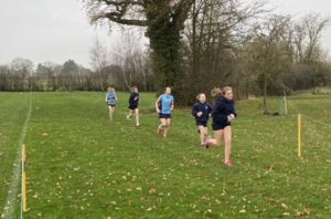 Girls compete in virtual Cross Country Relays